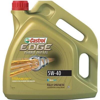 Castrol Edge Titanium TD 5w40 4L motorolaj