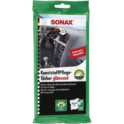 Műanyagápoló kendő 25db-os SONAX (412100-1057)