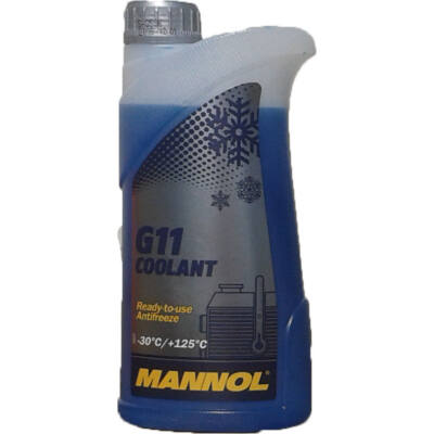 Mannol G11 fagyálló kék 1L -30C