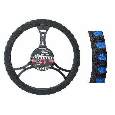 Kormányvédő kék szivacsos 37-39 cm
