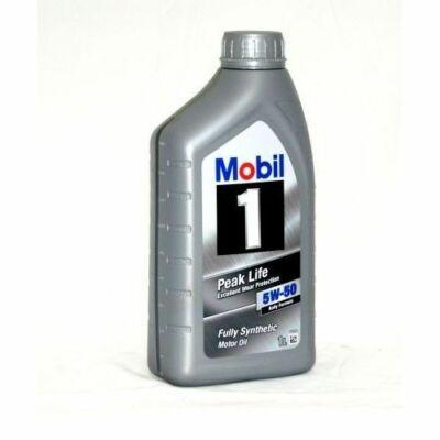 Mobil1 Peak Life 5W50 1L motorolaj