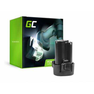 Green Cell szerszámgép akkumulátor BL1013 - Makita DF030D DF330D TD090D JV100DWE