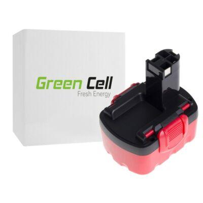 Green Cell szerszámgép Akkumulátor Bosch 3000 mAh