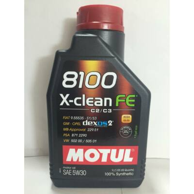 MOTUL 8100 Xclean FE 5W30 1 liter  motorolaj