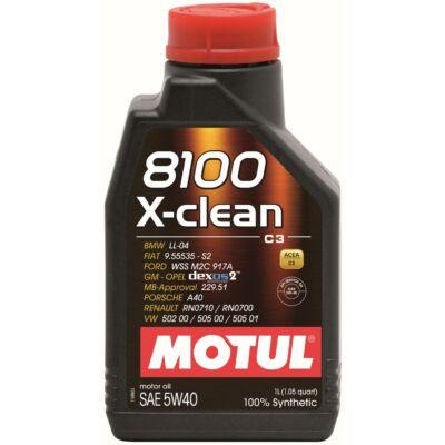 MOTUL 8100 Xclean 5W40 1 liter motorolaj