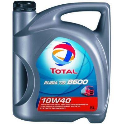 TOTAL RUBIA TIR 8600 10W40 5LITER motorolaj