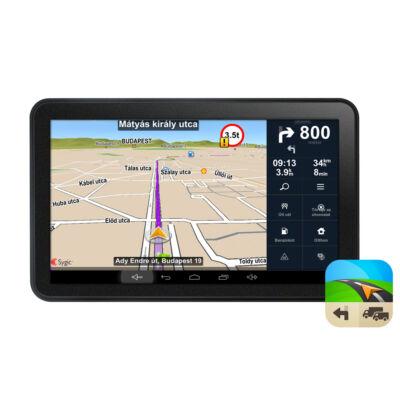 WayteQ x995 MAX GPS navigáció (Android) + Sygic Truck KAMIONOS navigáció LIFETIME + 3 ÉV FRISSÍTÉS