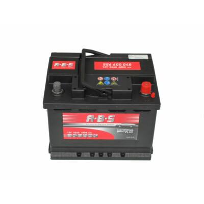 ABS Plus 12v 56ah autó akkumulátor BAL+ (556601048)
